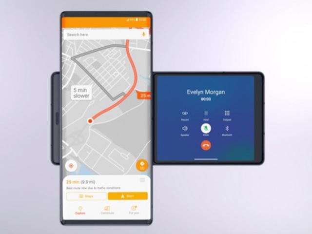 LG công bố smartphone kỳ lạ nhất từ trước đến nay