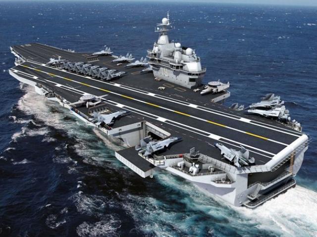 Tiết lộ về tàu sân bay thứ ba 80.000 tấn của Trung Quốc