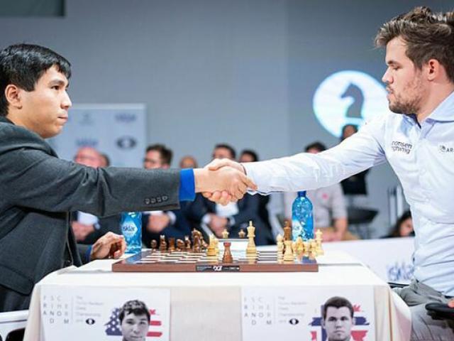 Vua cờ Carlsen thua đau kỳ thủ gốc Philippines, 28 nước đã đầu hàng