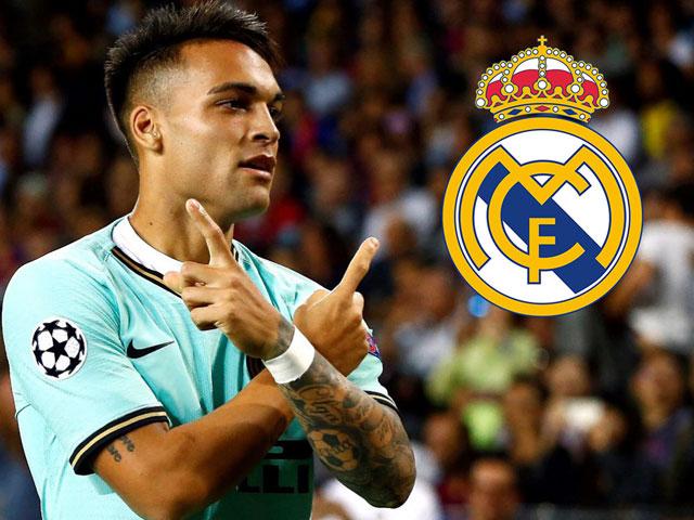 Rộ tin Real đạt thỏa thuận chiêu mộ Lautaro Martinez 100 triệu euro