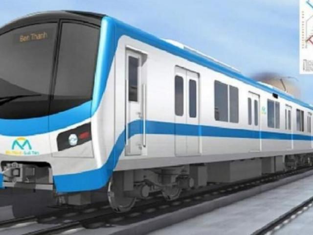 Tàu metro đầu tiên cập bến TP.HCM vào ngày 10/10 tới