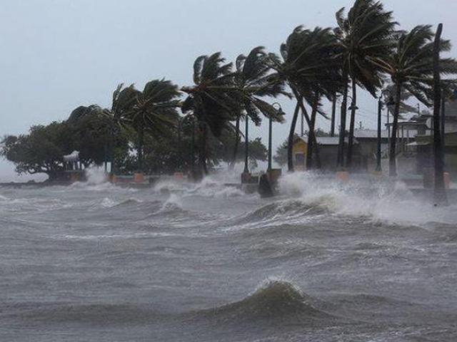 Áp thấp nhiệt đới khả năng mạnh thành bão xuất hiện gần Biển Đông