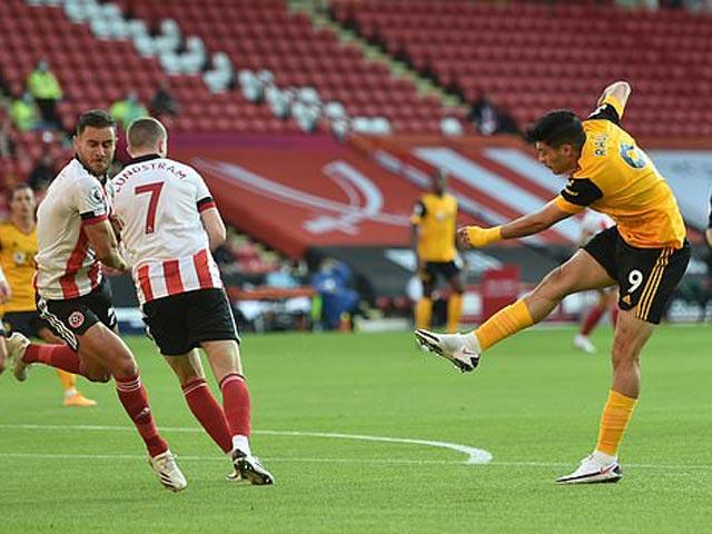 Video highlight trận Sheffield United – Wolves: 3 phút 2 bàn, định đoạt chóng vánh