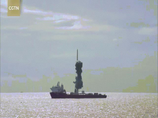 """Trung Quốc phóng tên lửa và 9 vệ tinh thẳng qua Đài Loan: Lời cảnh báo """"lạnh gáy"""""""