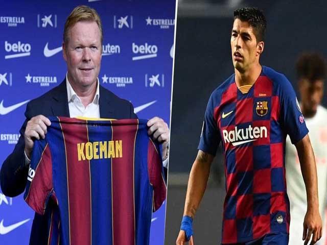 Barca phũ phàng với Suarez: HLV Koeman cấm cửa, dễ dự bị hết hợp đồng