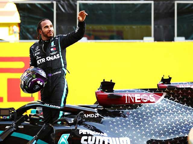 """Đua xe F1, Tuscan GP: """"Nhà vua"""" Hamilton chạm mốc 90 chiến thắng"""