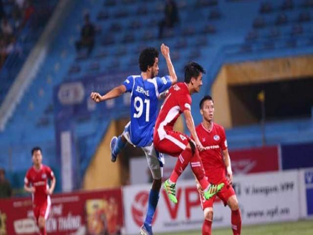 Trực tiếp bóng đá Quảng Ninh - Viettel: Vỡ òa cuối trận (Hết giờ)