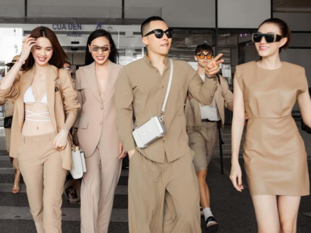 """Vũ Khắc Tiệp và dàn chân dài bị chỉ trích vì màn xuất hiện """"hoành tráng"""" ở sân bay Tây Sơn Nhất"""
