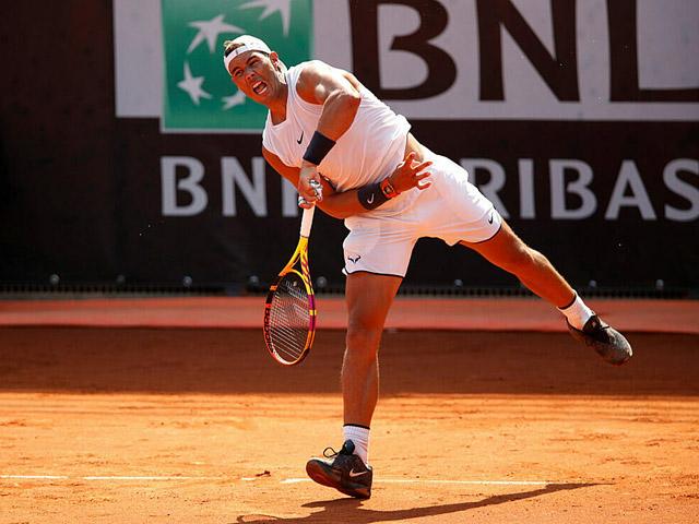 """Nadal phấn khích ngày trở lại: """"Hủy diệt"""" đối thủ vẫn chưa hài lòng"""