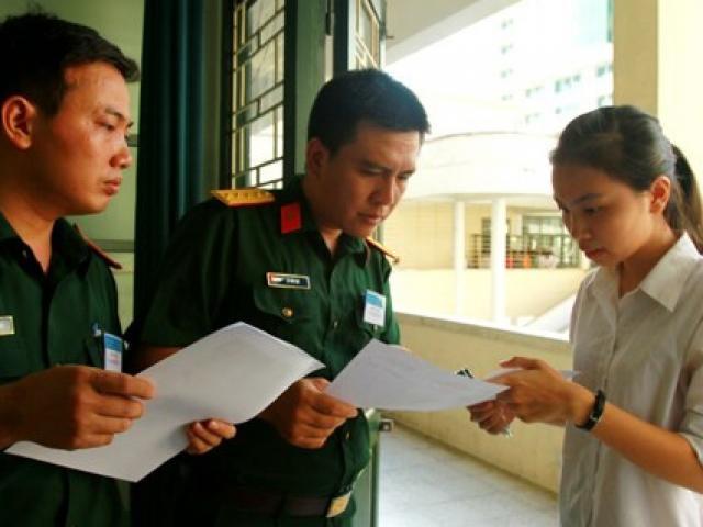 Các trường đại học, học viện khối Quân đội công bố điểm sàn