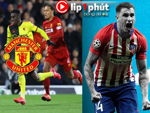 MU săn hung thần của Liverpool, Man City mê mẩn thủ lĩnh Atletico Madrid (Clip 1 phút Bóng đá 24H)