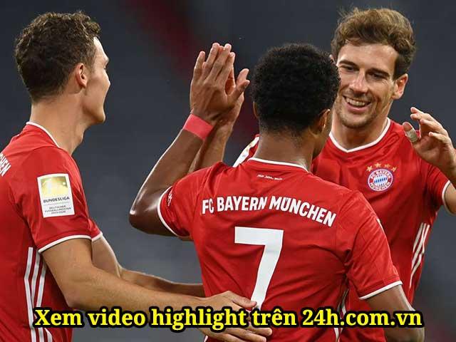 Video highlight trận Bayern Munich - Schalke 04: Kinh hoàng tỷ số hơn cả 8-2 (Khai mạc Bundesliga)