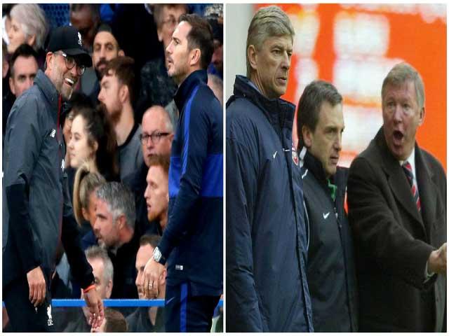 Lampard - Klopp khẩu chiến dữ dội, fan Ngoại hạng Anh nhớ Sir Alex - Wenger