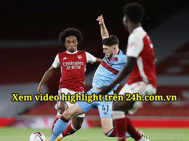 Trực tiếp bóng đá Arsenal - West Ham: Antonio gỡ hòa 1-1 (H1)