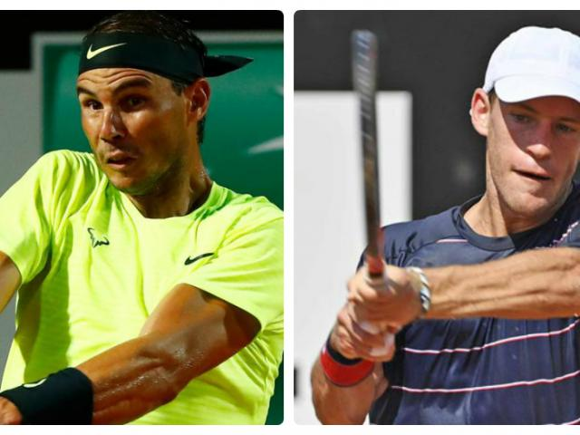 """Video tennis Schwartzman - Nadal: Địa chấn ngỡ ngàng, """"Nhà Vua"""" choáng váng (Tứ kết Rome Masters)"""