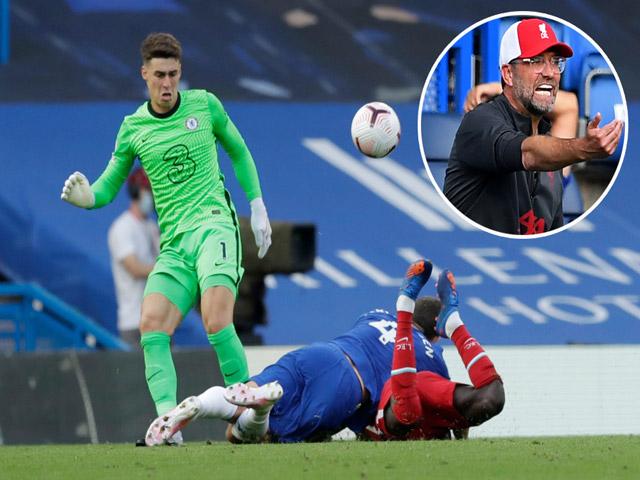 Cầu thủ Chelsea nhận thẻ đỏ, vì sao Jurgen Klopp bất ngờ mắng học trò?