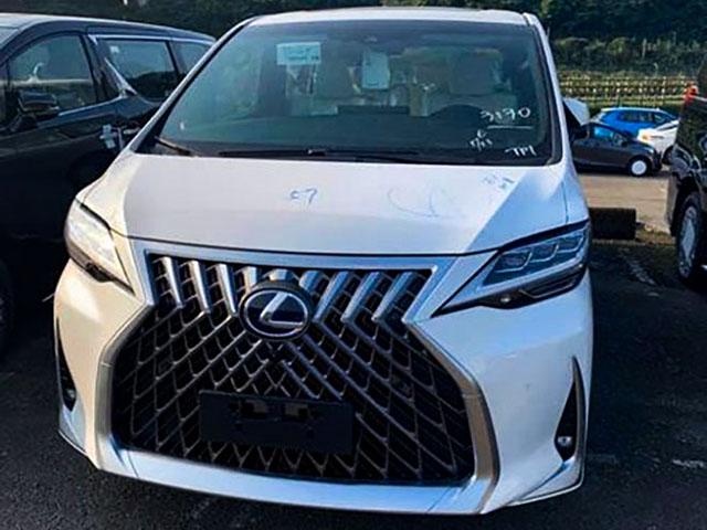 Xe sang Lexus LM có giá hơn 5 tỷ đồng tại Trung Quốc