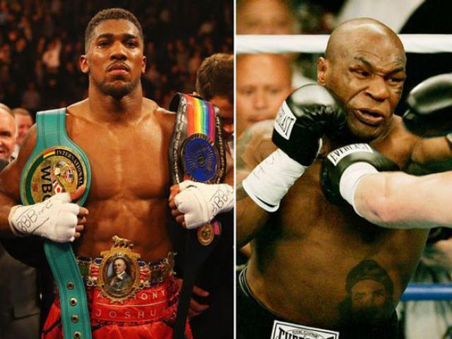 """""""Quyền vương"""" Joshua bị chê tới tấp, đấm còn kém Mike Tyson"""
