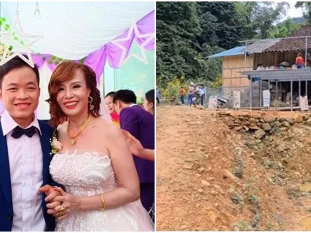 """Khoe nhà to đùng mới xây, """"cô dâu 62 tuổi"""" để lộ ngôi nhà cũ kỹ của bố mẹ chồng"""