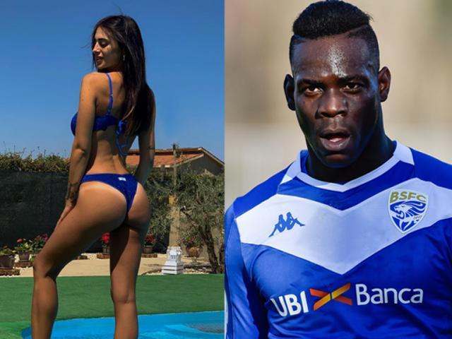 """Balotelli thất nghiệp vẫn """"trói tim"""" mỹ nhân showbiz chỉ sau 1 tháng hẹn hò"""