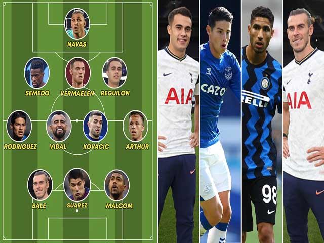 """""""Hàng thải"""" của Barca - Real đủ siêu đội hình tranh cúp C1: Suarez, Bale sát cánh"""