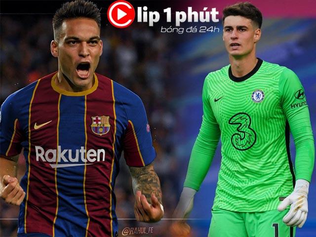 """Barcelona chốt SAO thay Suarez, Chelsea """"xử"""" thủ môn đắt nhất lịch sử (Clip 1 phút Bóng đá 24H)"""
