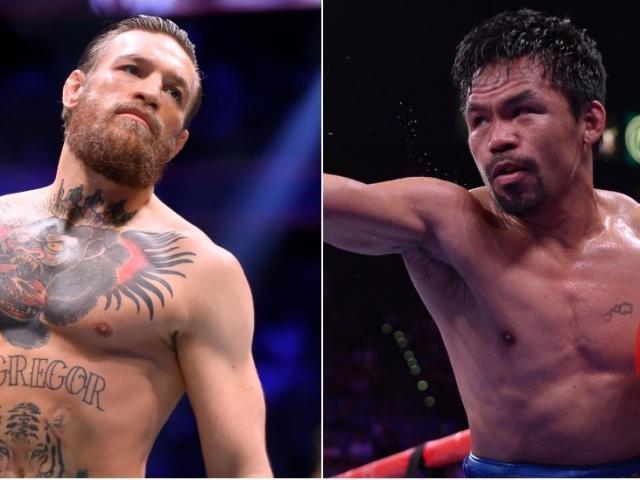 """""""Tóe lửa"""" võ đài, """"gã điên"""" McGregor tuyên bố trở lại đấu Pacquiao"""