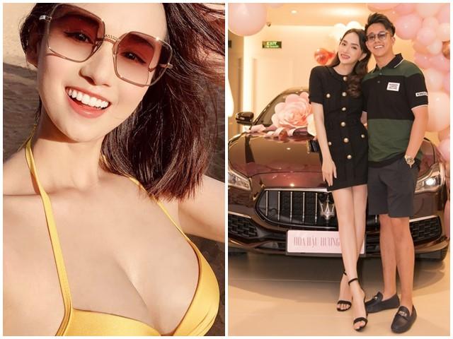 Sao được bạn trai tặng xế sang: Người đẹp quá giàu không cần đóng phim có vượt mặt Hoa hậu hẹn hò CEO Singapore