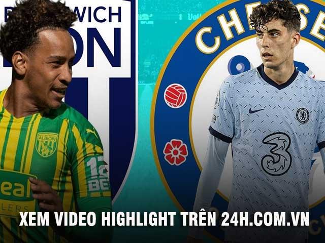 Trực tiếp bóng đá West Brom - Chelsea: Song sát Werner - Abraham đá chính