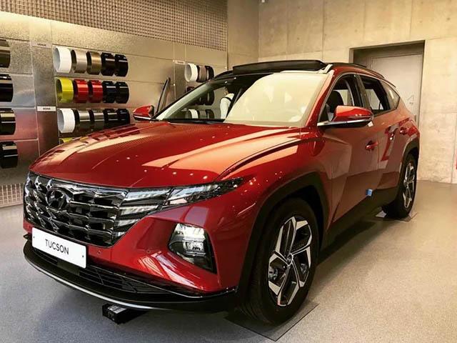 Ảnh thực tế Hyundai Tucson 2021 tại đại lý, đợi về Việt Nam đấu Honda CR-V