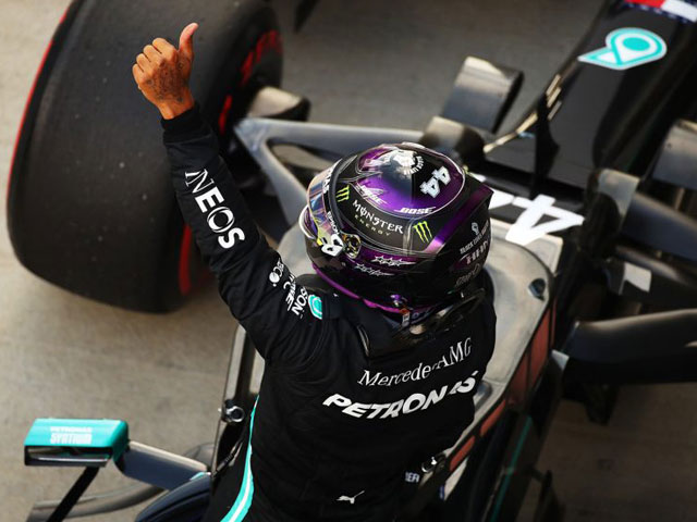 Đua xe F1, Russian GP: Mercedes cùng Hamilton lập kỷ lục mới