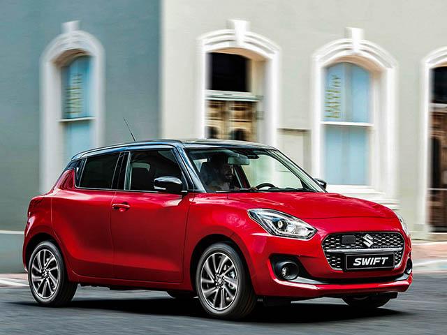 Suzuki Swift phiên bản nâng cấp ra mắt tại châu Âu