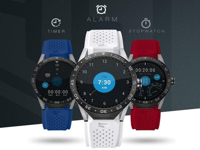 TAG Heuer ra mắt smartwatch siêu đắt