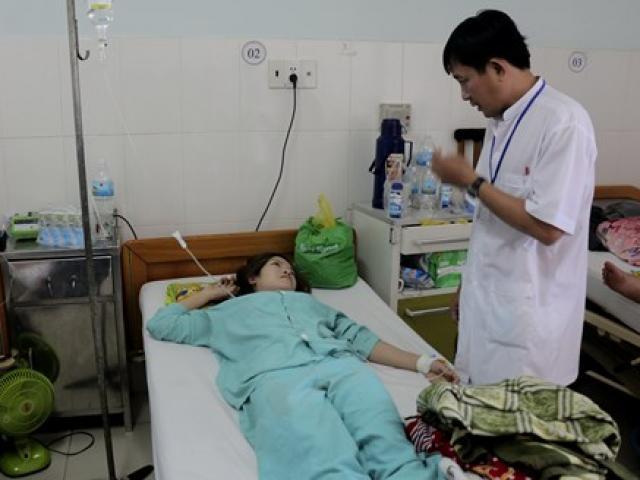 Ngộ độc khí CO, 17 công nhân nhập viện trong đêm