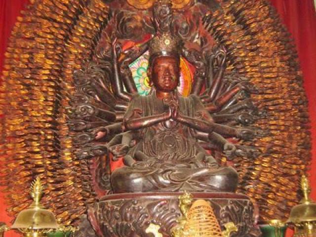 CA ráo riết truy tìm tượng Phật nghìn tay nghìn mắt