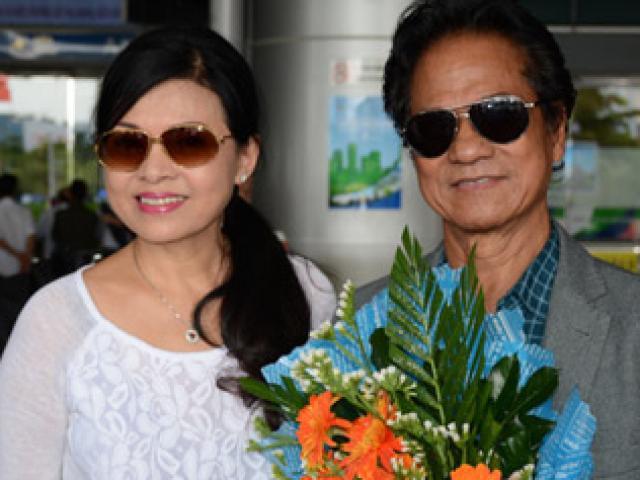Bất ngờ nhan sắc trẻ đẹp của vợ danh ca Chế Linh