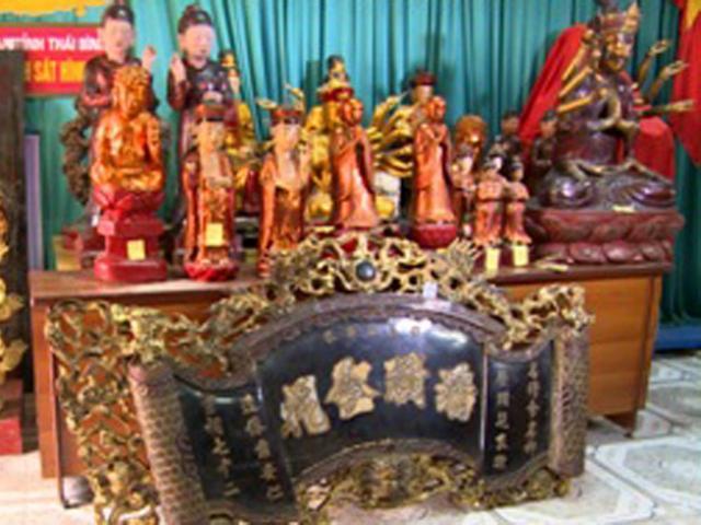 Băng đạo chích chuyên cạy cửa đền, chùa trộm cổ vật