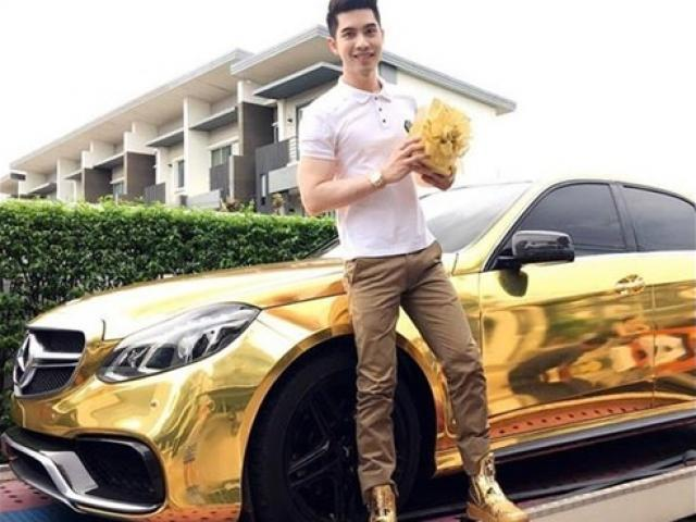 Missed a gold supercar made a million dream women