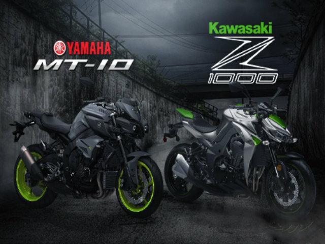 So thắng thua giữa Yamaha MT-10 và Kawasaki Z1000