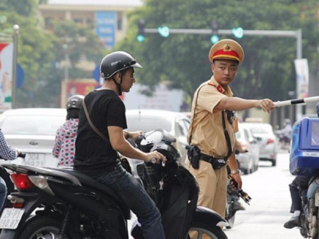 Nghiêm cấm CSGT Hà Nội truy đuổi người vi phạm