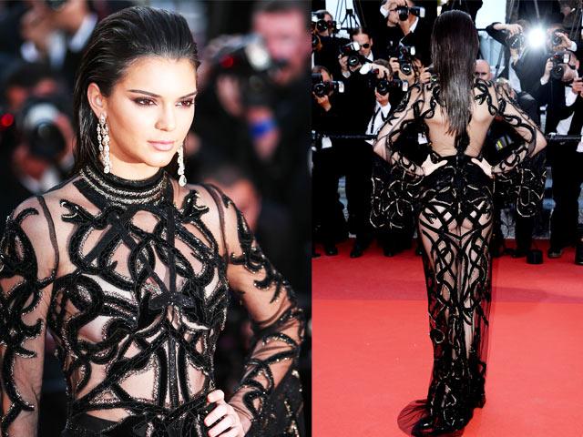Váy khoe 80% cơ thể của Kendall Jenner đẹp nhất 2016