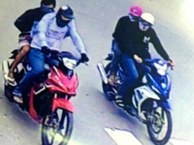 Camera tiết lộ hình ảnh 4 đối tượng cướp tiệm vàng ở Tây Ninh