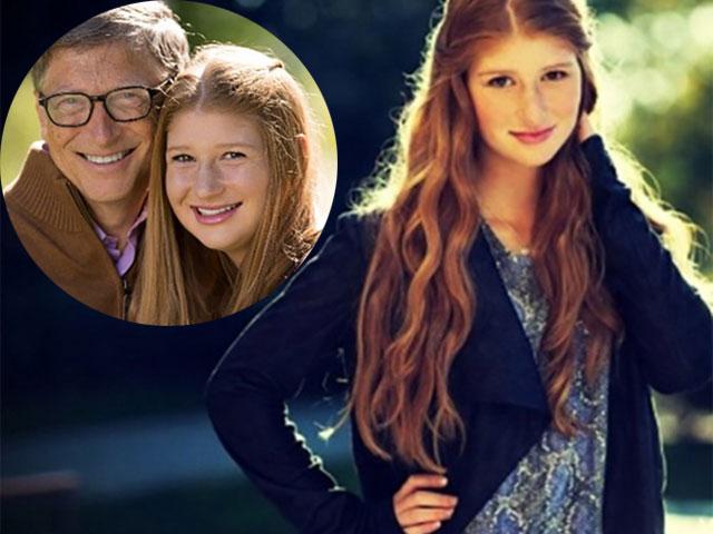 Con gái tỷ phú Bill Gates có nhan sắc gây bất ngờ
