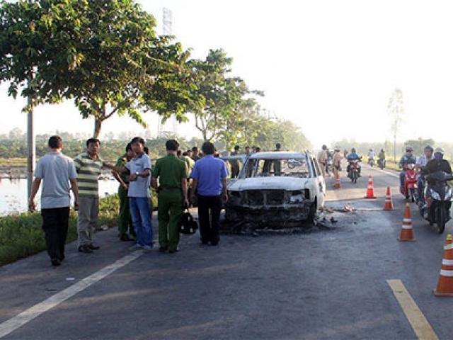 Vụ đốt xe tại Hậu Giang: Sự thật đau lòng