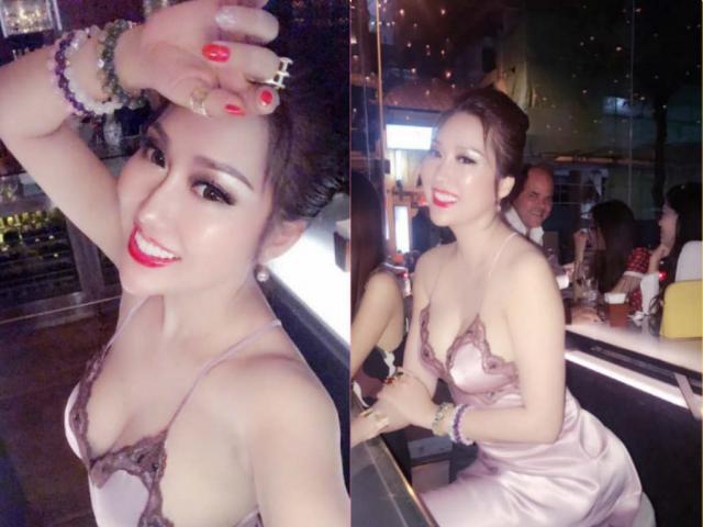 """Đâu phải lần đầu Phi Thanh Vân mặc váy ngủ khoe vòng 3 """"khủng"""" trên 1 mét"""