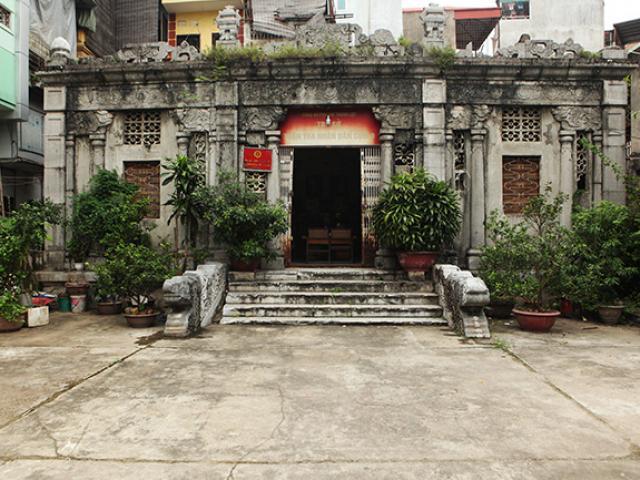 Khám phá công trình lăng mộ cổ bằng đá bậc nhất Thủ đô