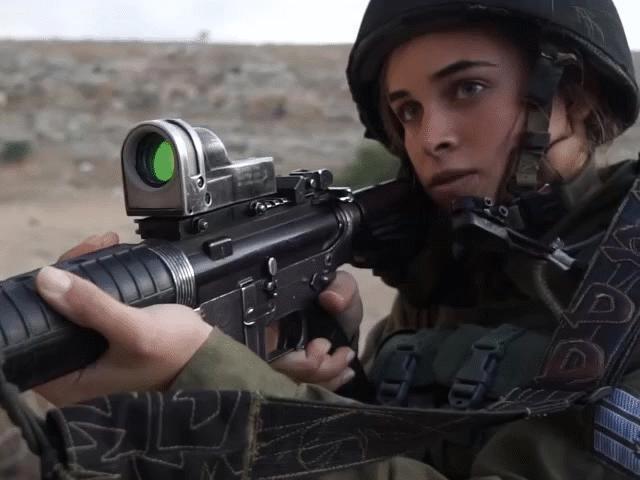 Đội quân nữ xinh đẹp chuyên bắt khủng bố trên biên giới Israel