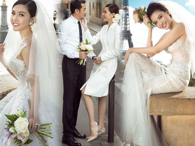"""Ảnh cưới đẹp tới nín thở của """"mỹ nữ Vũng Tàu đi xe 70 tỷ"""" bên đại gia hơn 18 tuổi"""