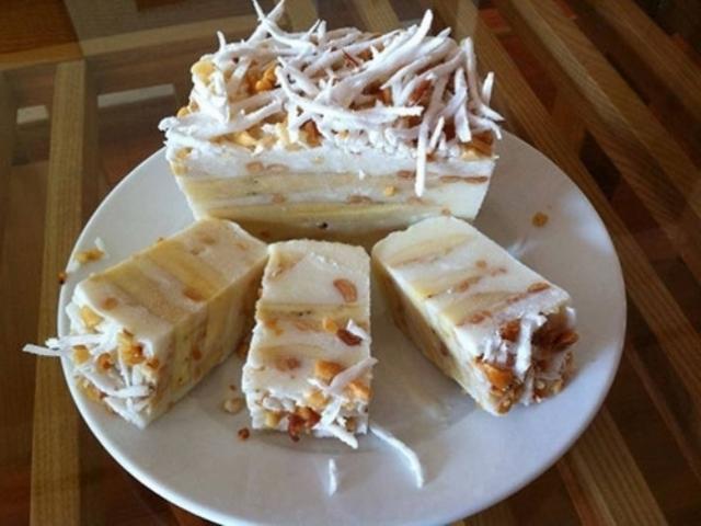 Cách làm kem chuối cốt dừa ngọt thơm, béo bùi
