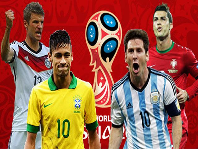 Lịch thi đấu bóng đá World Cup 2018 và lịch truyền hình trực tiếp